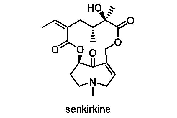 フキタンポポ 化学構造式1