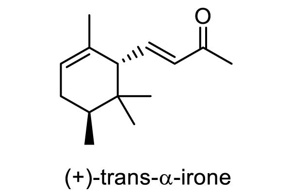 ニオイアヤメ 化学構造式4